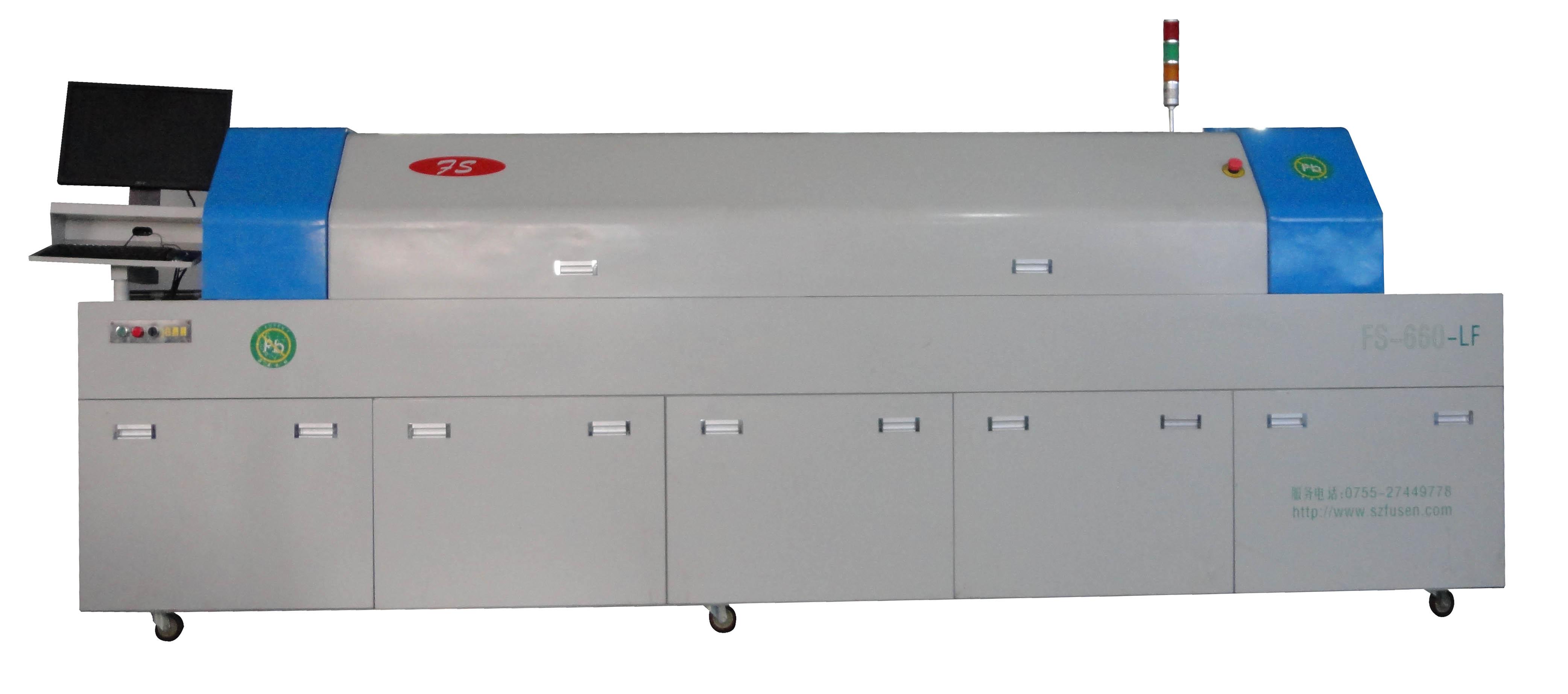 中型六区回流焊FS-6600-LF
